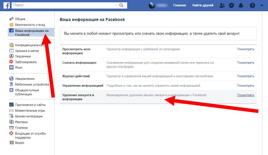 Как удалить работу в фейсбук удалённая работа разовая