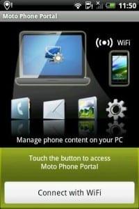 Приложение Moto Phone Portal
