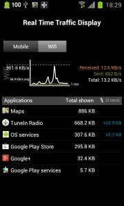 Приложение 3G Watchdog для контроля трафика