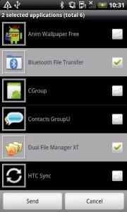 Приложение Bluetooth File Transfer для передачи файлов по Bluetooth