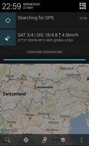 Приложение GPS Status