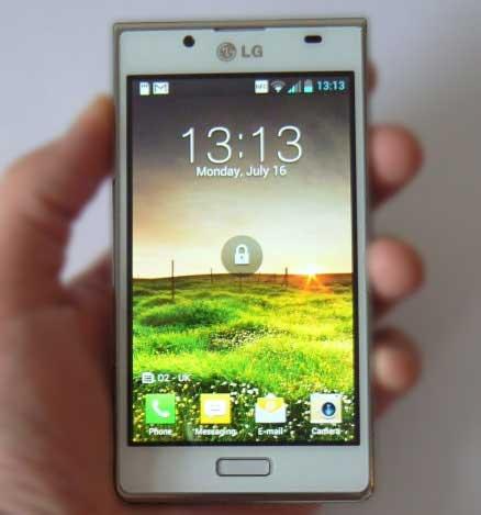 Полный сброс (HARD RESET) LG P705 Optimus L7