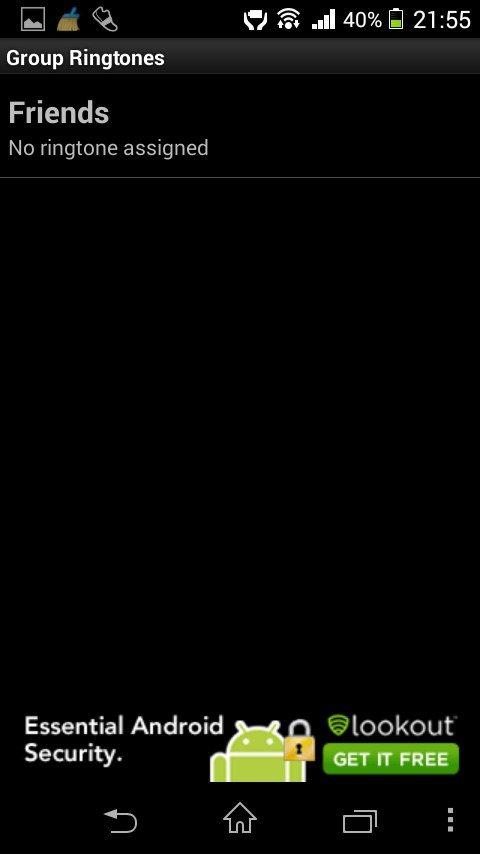 Группы контактов