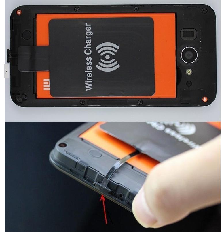 Беспроводная зарядка батареи смартфона