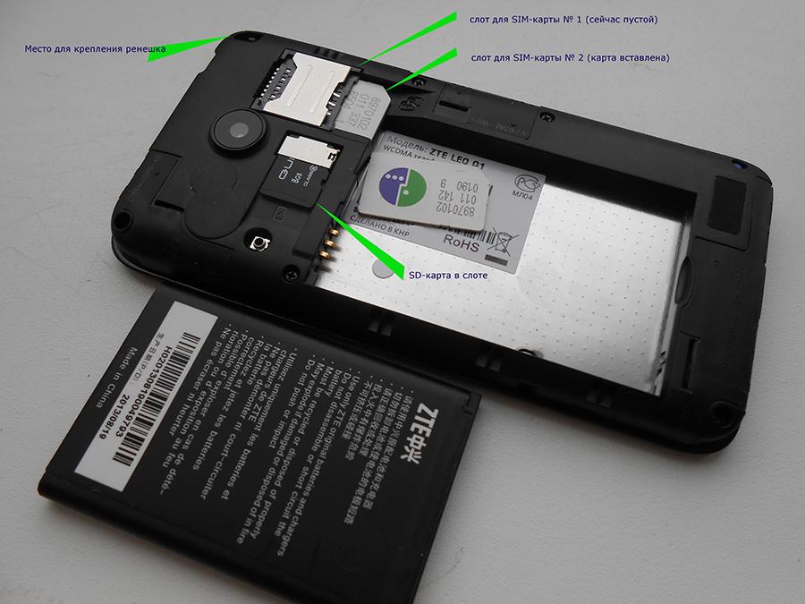 Извлечение SD-карты