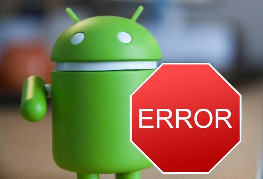 Ошибка на Андроиде