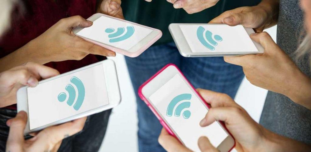 Wi-Fi на смартфоне