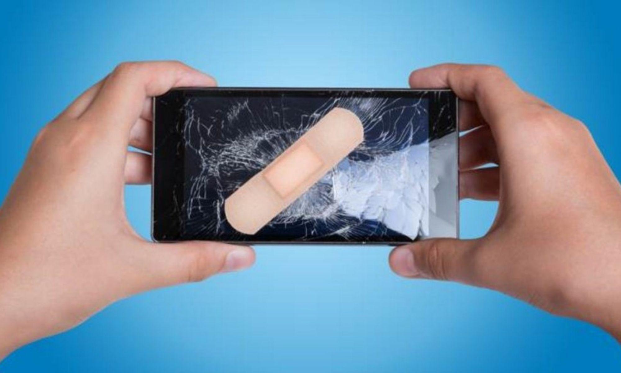 Треснул экран на сенсорном телефоне, что делать, в чем опасность