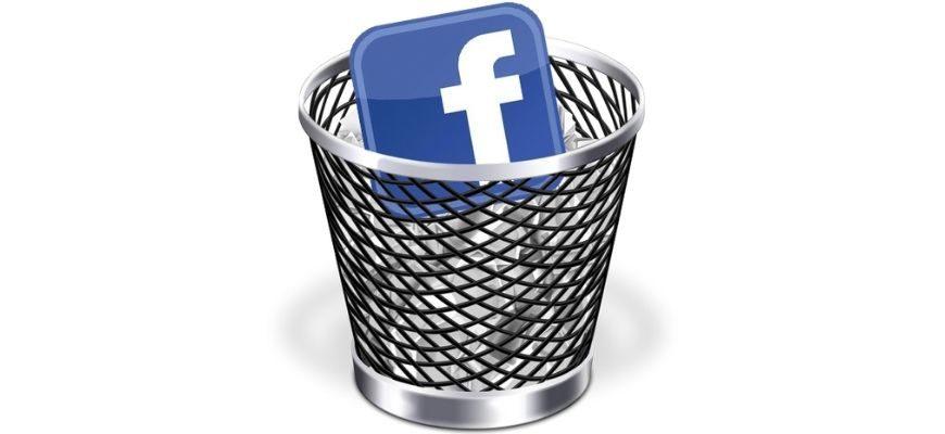 Как удалить аккаунт в фейсбук с телефона Android