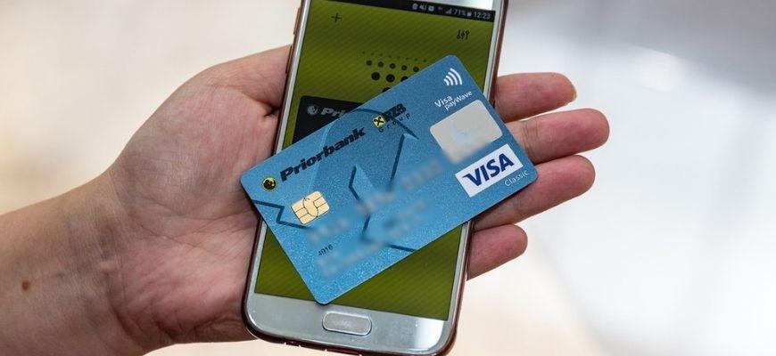 Как установить банковскую карту на телефон андроид