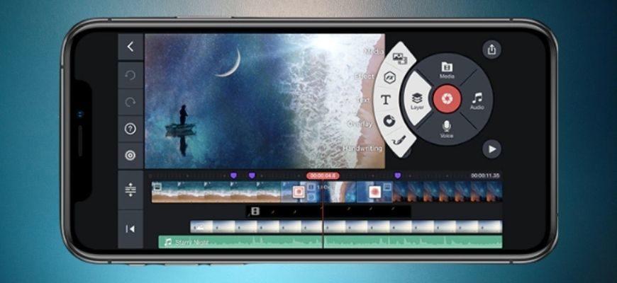 Лучшая программа для монтажа видео на телефоне Андроид